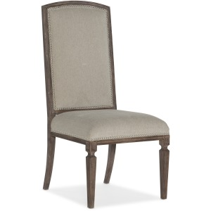 Woodlands Arched Upholstered Side Chair