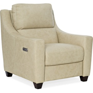 Monti Leather Recliner w/PWR Headrest