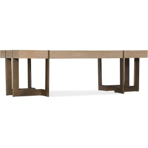 Miramar Point Reyes Max Rectangular Cocktail Table