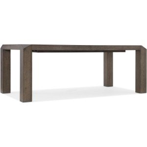 Miramar Aventura Vermeer 82in Leg Dining Table w/1-24in Leaf