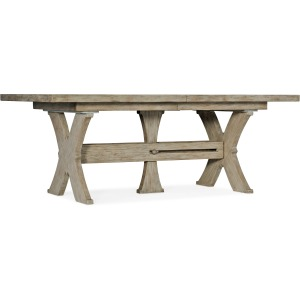 Alfresco Vittorio 80in Rectangle Dining Table w/ 2-22in Leaves