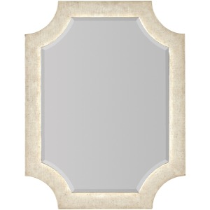 Novella Madonna Linen Wrapped Portrait Mirror