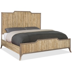 Urban Elevation King Wood Panel Bed