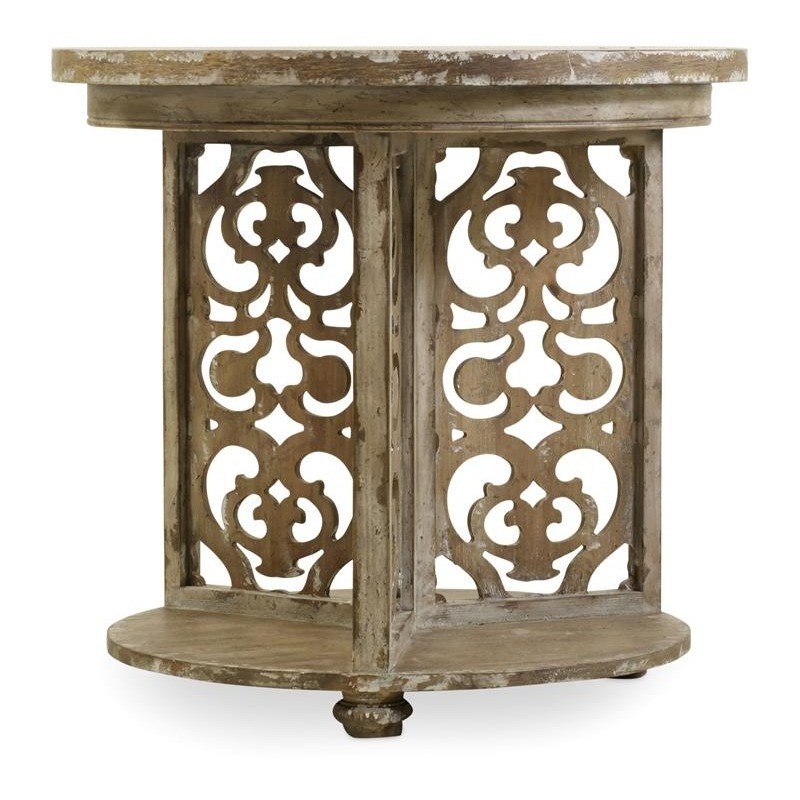 Furniture Chatelet Round Accent Table