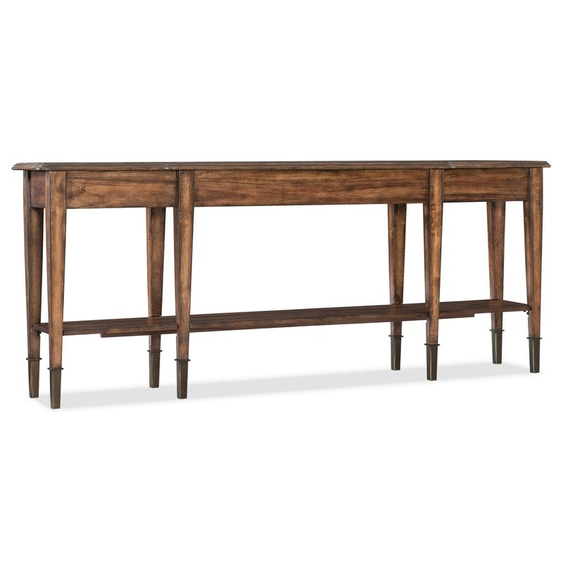 Wondrous Skinny Console Table By Hooker Furniture 5660 85001 Mwd Short Links Chair Design For Home Short Linksinfo