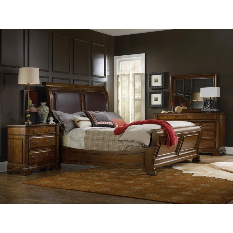 Furniture Tynecastle King Sleigh Bed