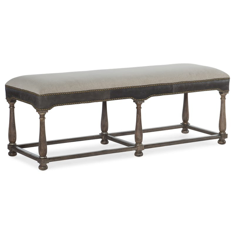 Terrific Woodlands Bed Bench By Hooker Furniture 5820 90019 84 Gmtry Best Dining Table And Chair Ideas Images Gmtryco