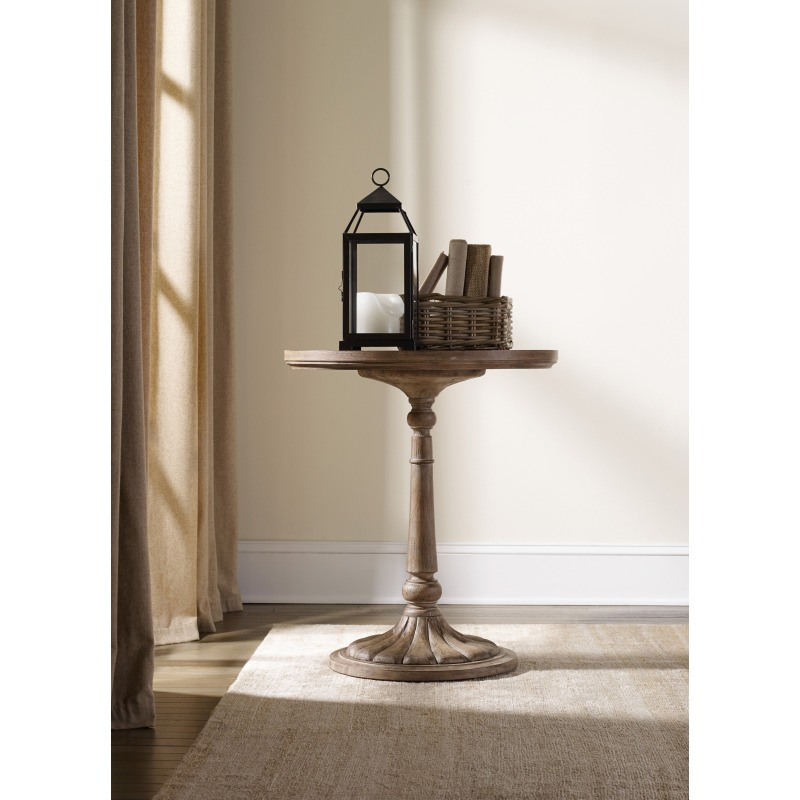 Round Bedside Table