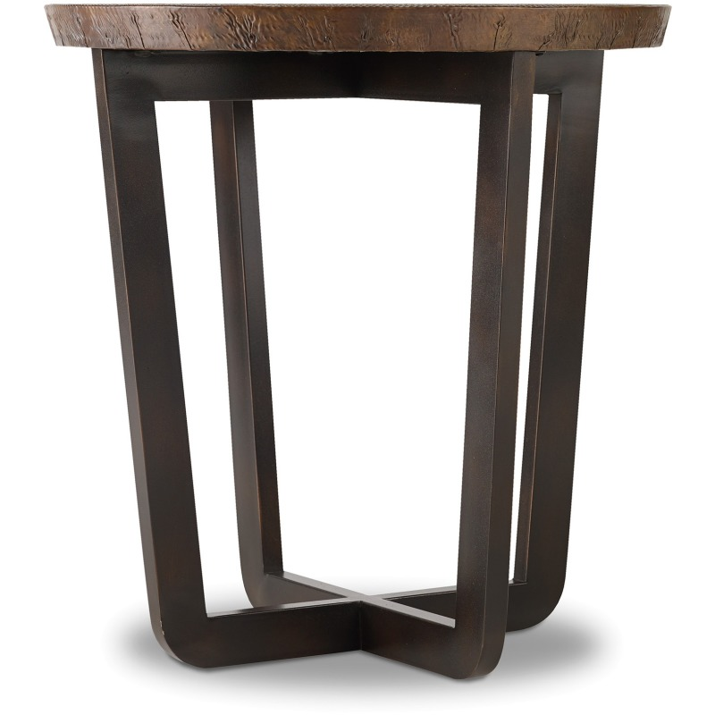 Parkcrest Round End Table Silhouette