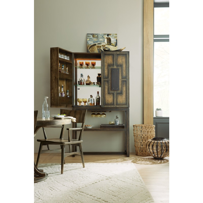Crafted Bar Cabinet Room