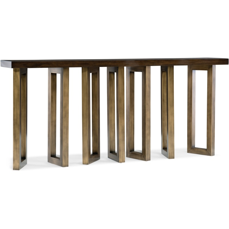 Melange Connelly Hall Console Silhouette
