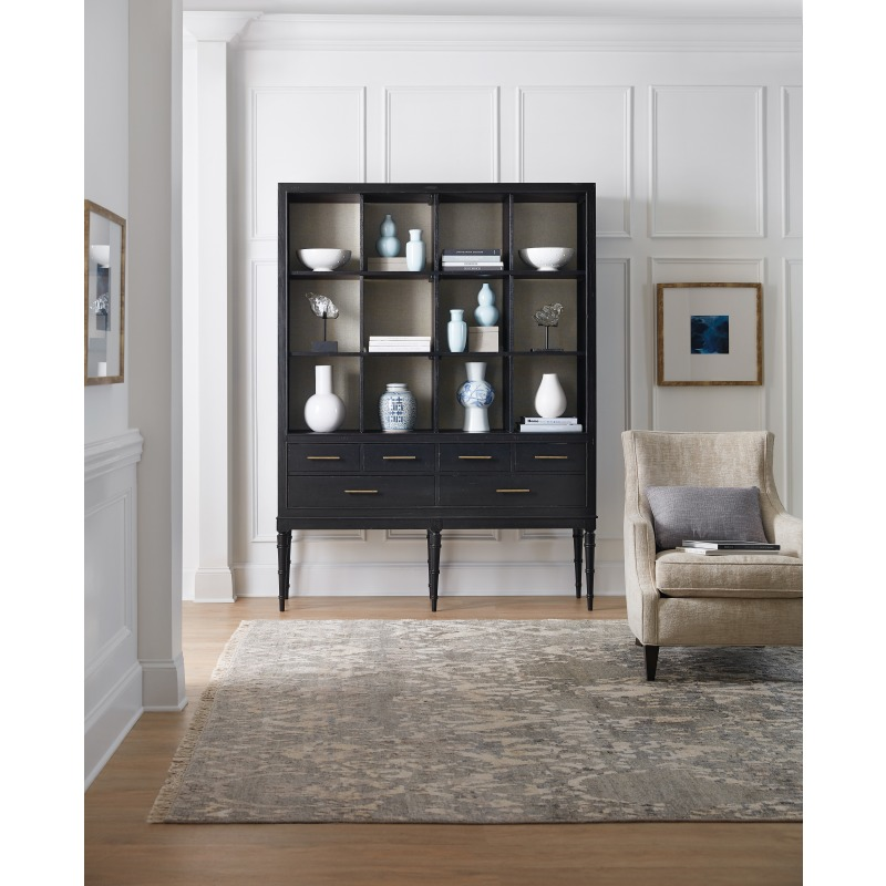 Tall Bookcase Room