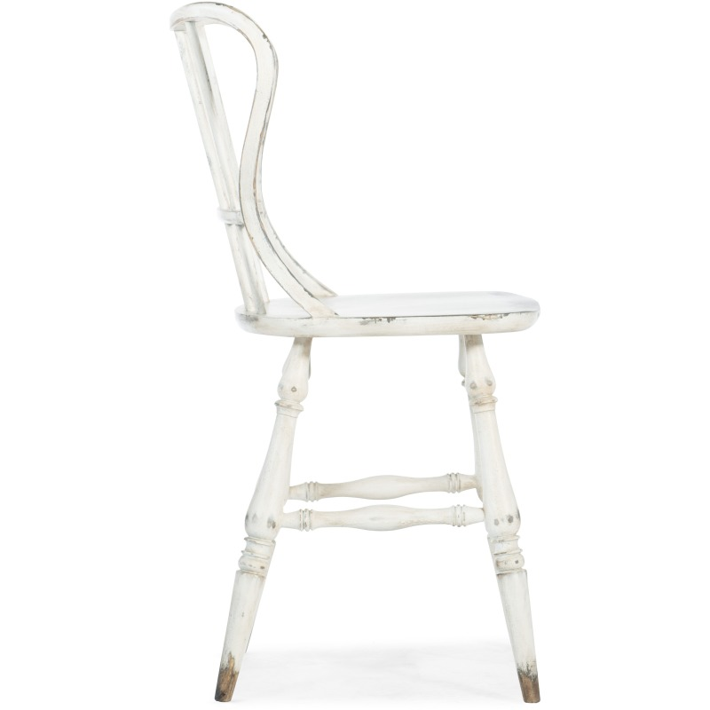Awe Inspiring Ciao Bella Spindle Back Counter Stool White By Hooker Evergreenethics Interior Chair Design Evergreenethicsorg