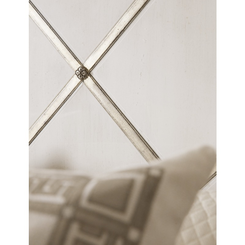 Sanctuary Diamont King Panel Bed Detail