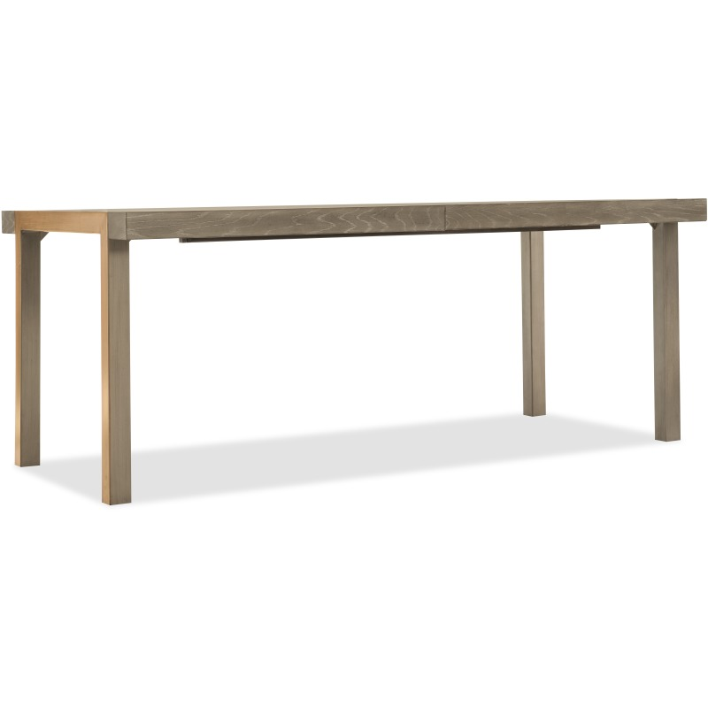 Pacifica 78in Rectangle Dining Table w/2-18in Leaves Silhouette