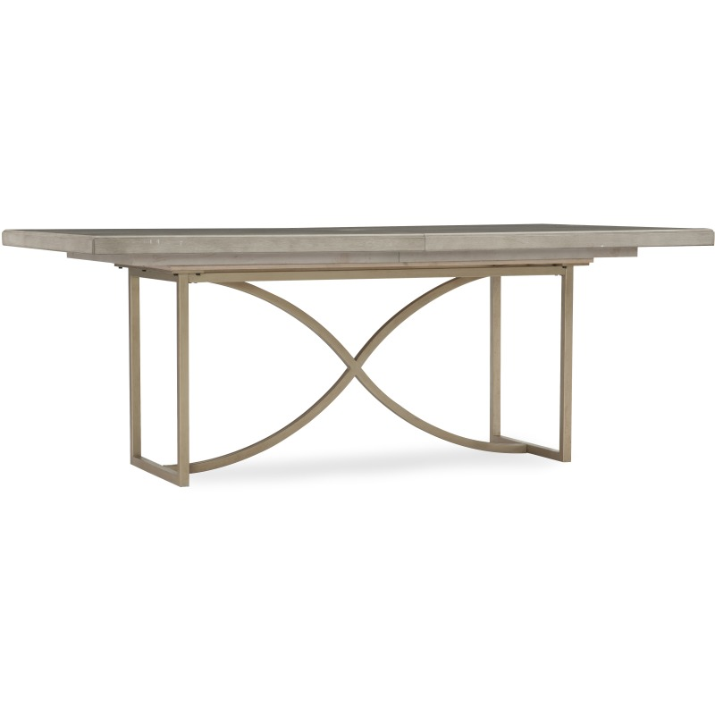 Elixir 80in Rectangular Dining Table w/1-20in Leaf Silhouette
