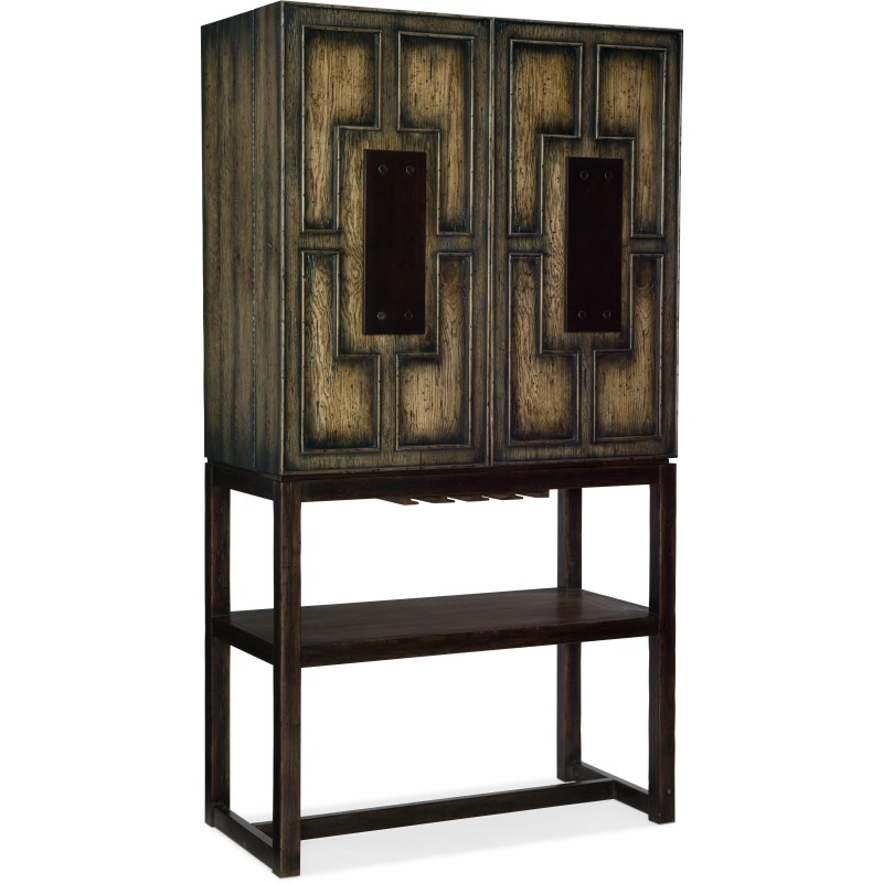 Crafted Bar Cabinet Silhouette