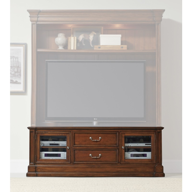Entertainment Console Silhouette