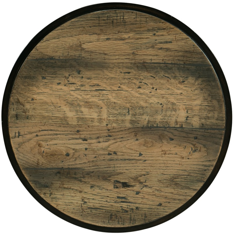 Crafted Drum Table Silhouette