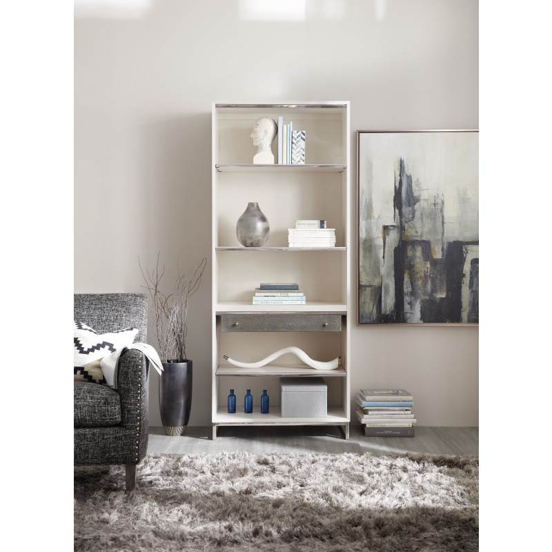 Sophisticated Contemporary Bookcase Room