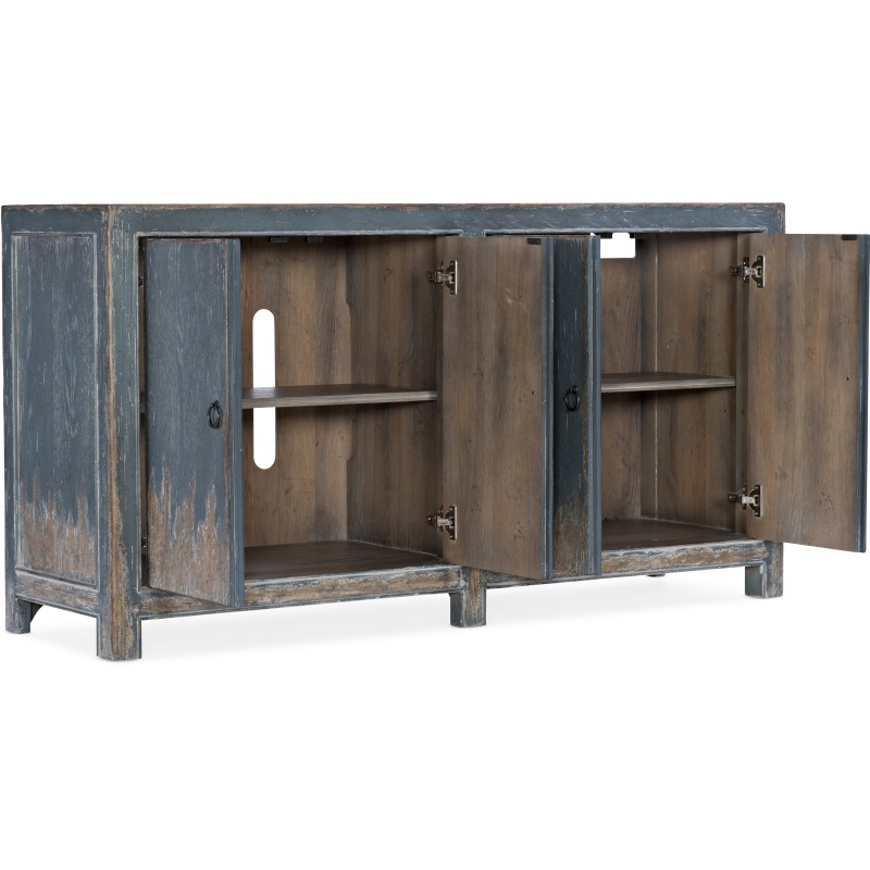 Boheme Four Door Media Console Silhouette