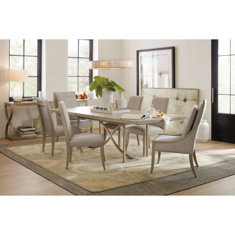 Elixir 80in Rectangular Dining Table w/1-20in Leaf Room