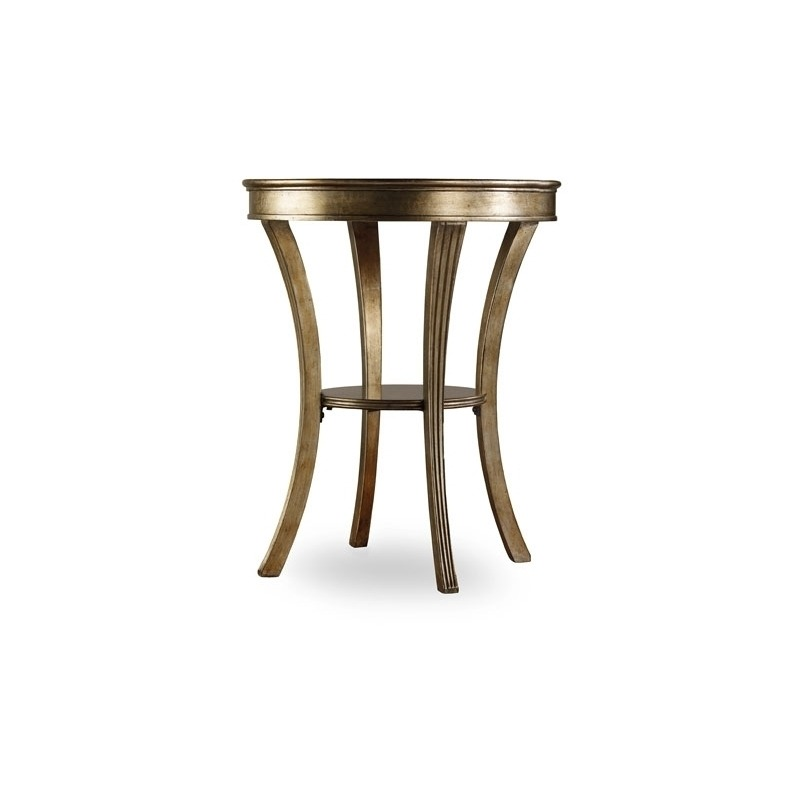 Fine Sanctuary Round Mirrored Accent Table By Hooker Furniture Home Interior And Landscaping Mentranervesignezvosmurscom