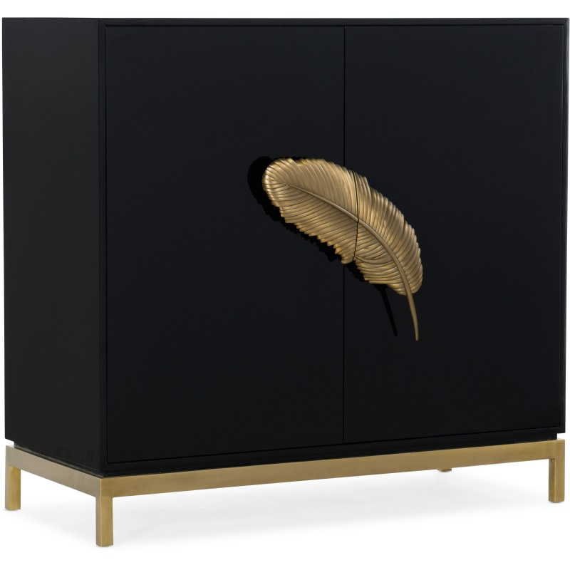 Melange Like a Feather Cabinet Silhouette