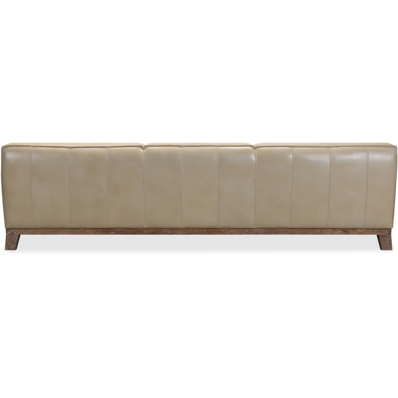 Prosper Grand Leather Stationary Sofa Silhouette