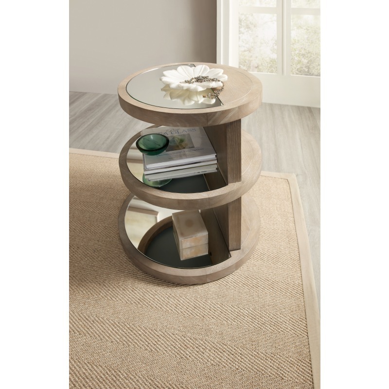 Affinity Round End Table Detail
