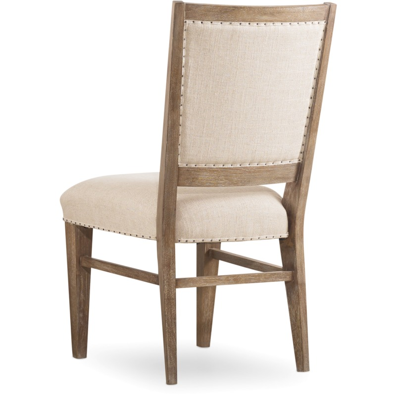 Studio 7H Stol Upholstered Side Chair Silhouette