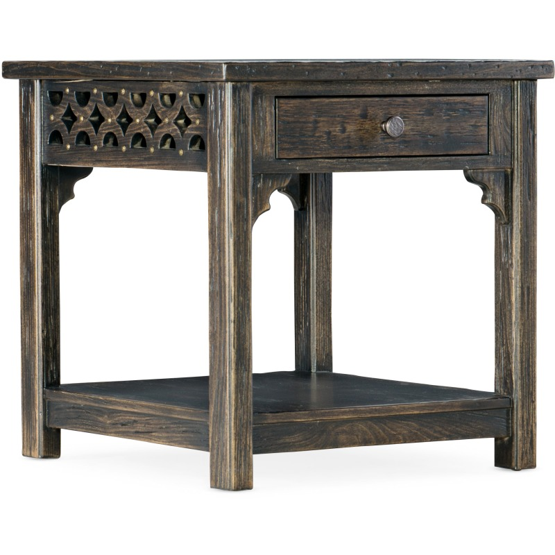 La Grange Burnham End Table Silhouette