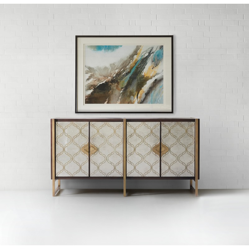Melange Classic Credenza Abstract