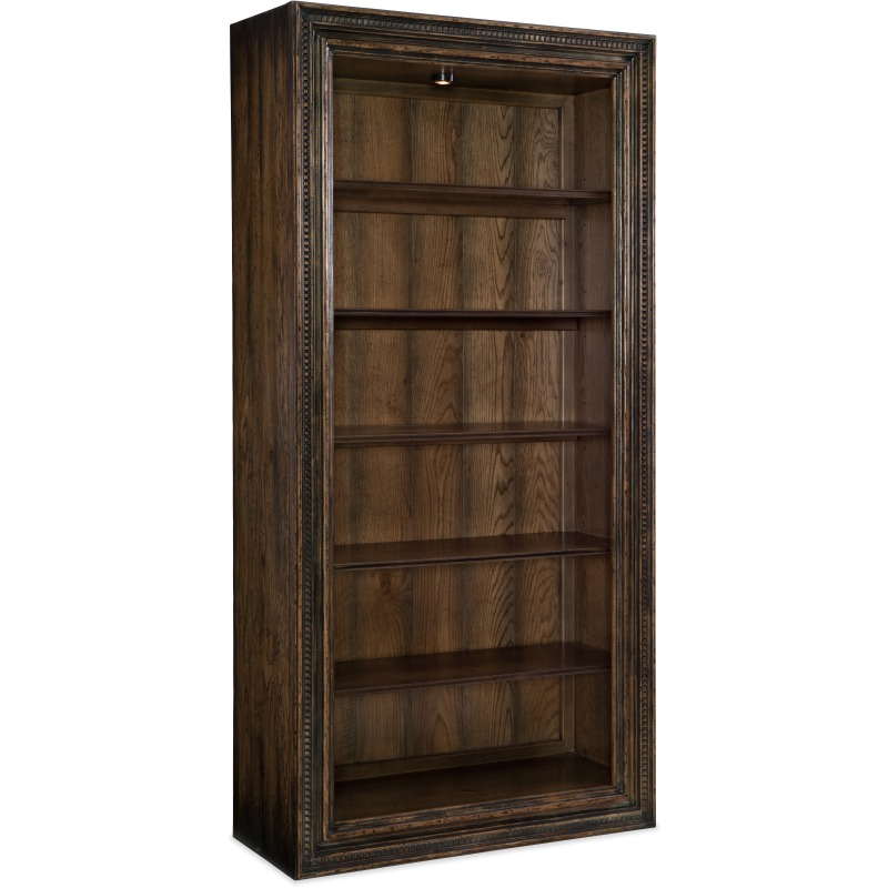 Crafted Bookcase Silhouette