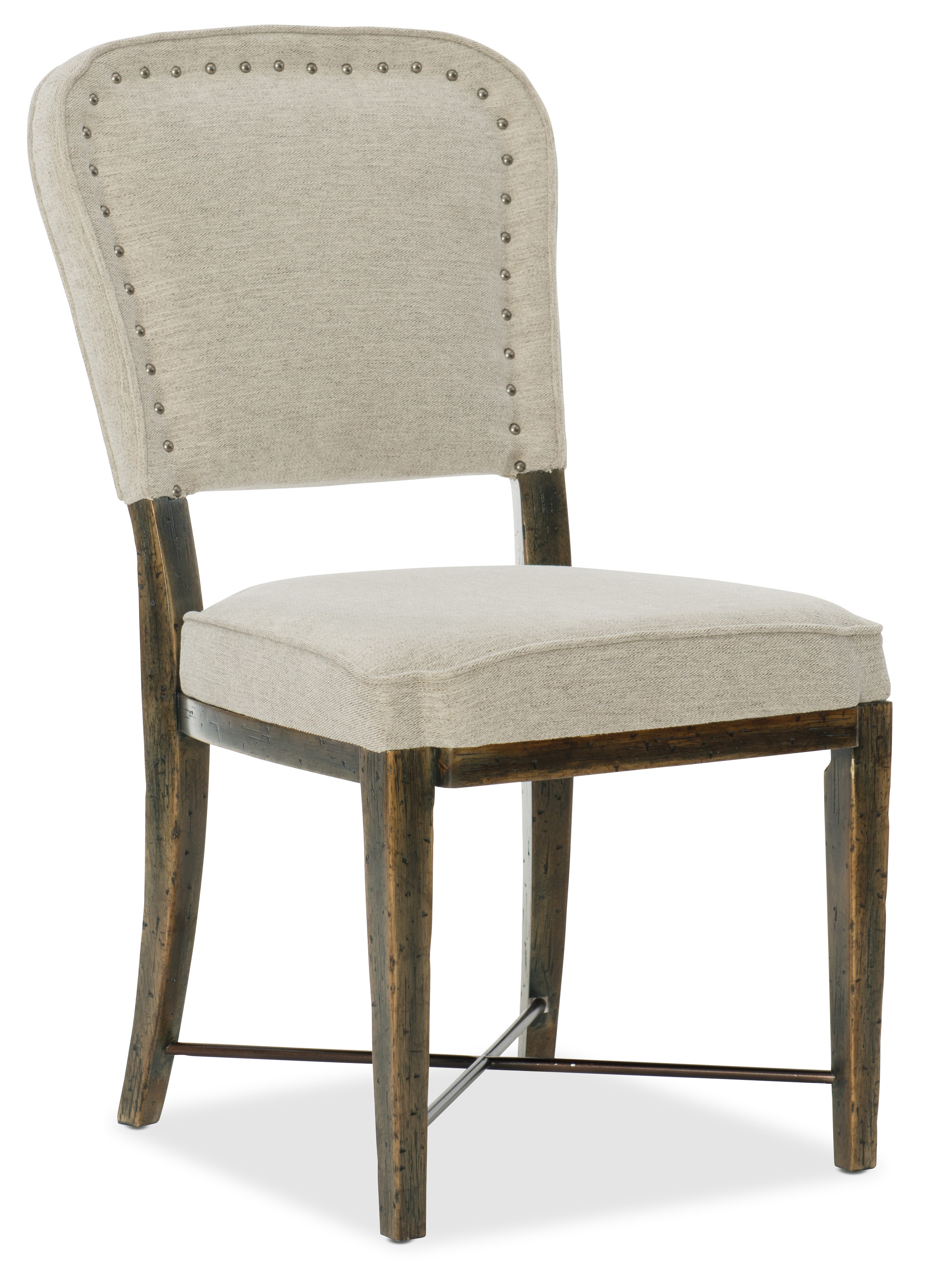 Crafted Upholstered Side Chair by Hooker Furniture - 1654 ...