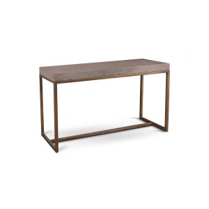 Roka Gray Marble Sofa Table