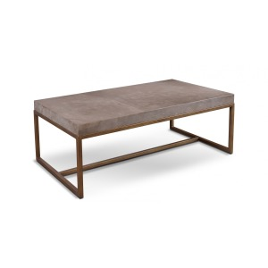 Roka Gray Marble Cocktail Table