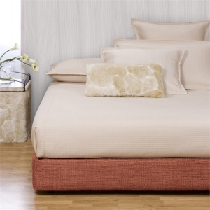 King Boxspring Cover Coco Coral