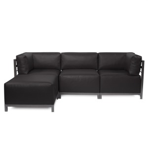 Axis 4pc Sectional Atlantis Black Titanium Frame