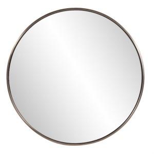 Copenhagen Round Brass Mirror