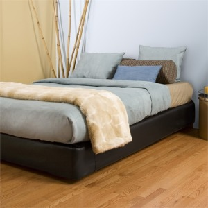 Queen Boxspring Cover Avanti Black