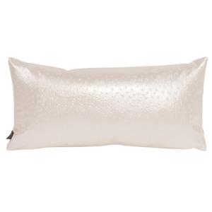 Kidney Pillow Ostrich Pearl