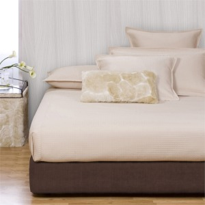 King Boxspring Cover Sterling Chocolate