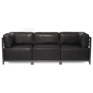 Axis 3pc Sectional Avanti Black Titanium Frame