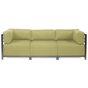 Axis 3pc Sectional Sterling Willow Titanium Frame