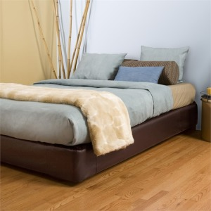 Queen Boxspring Cover Avanti Pecan