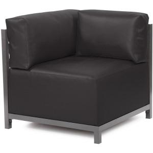 Axis Corner Chair Atlantis Black Titanium Frame