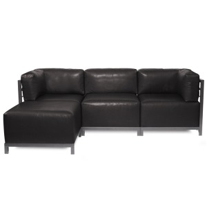 Axis 4pc Sectional Avanti Black Titanium Frame