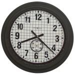 Grid Iron Works Wall Clock