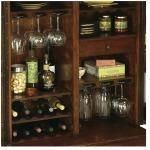 Lodi Wine & Bar Cabinet